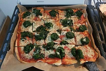 Spinatpizza 2