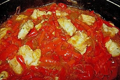 Paprika - Fisch - Gulasch 1