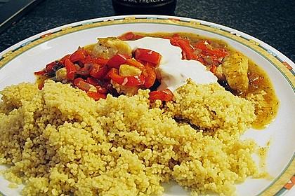 Paprika - Fisch - Gulasch