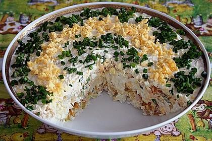 Schichtsalat mit Thunfisch nach japanischer Art 1
