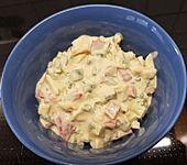 Pikanter Eiersalat mit Creme fraiche (Bild)