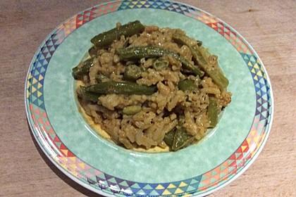 Bohnen - Reis - Pfanne (Bild)
