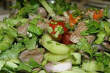 Pikanter thailändischer Rindfleischsalat 3
