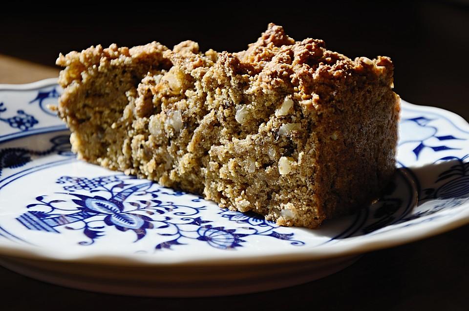 Bananen Walnuss Kuchen Von Cappuccino Chefkoch De