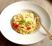 Tomaten - Risotto mit Basilikum (Bild)