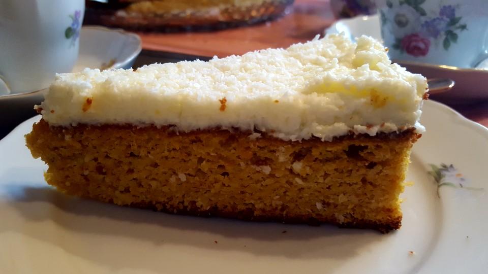 Mandel Mohren Kuchen Mit Apfel Von Fleur5 Chefkoch De