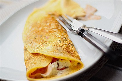 Dänisches Omelett 1