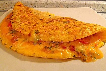 Dänisches Omelett 5
