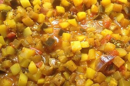Auberginen - Kartoffel - Curry