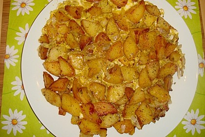 Bratkartoffeln mit Ei 18
