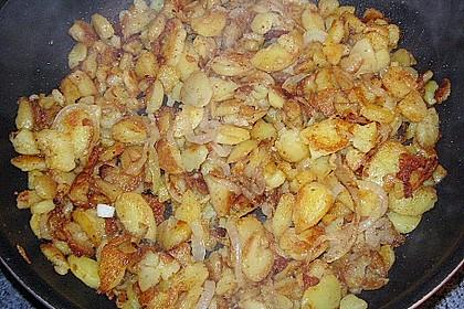 Bratkartoffeln mit Ei 9