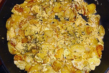 Bratkartoffeln mit Ei 11