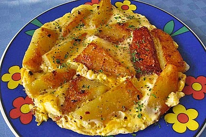 Bratkartoffeln mit Ei 3