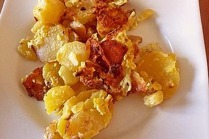 Bratkartoffeln mit Ei 2