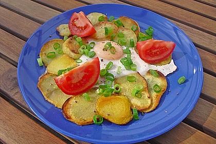 Bratkartoffeln mit Ei 1