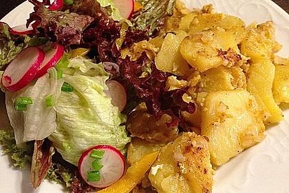 Bratkartoffeln mit Ei 4