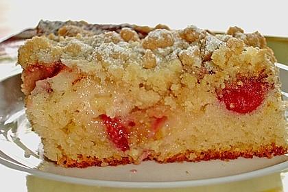 Rhabarber-Streuselkuchen (Bild)