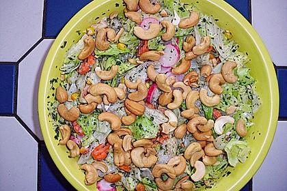 Sommersalat mit Cashewkernen 3