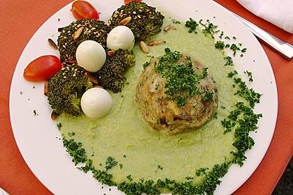 Pilzknödel mit Gorgonzolasauce 2