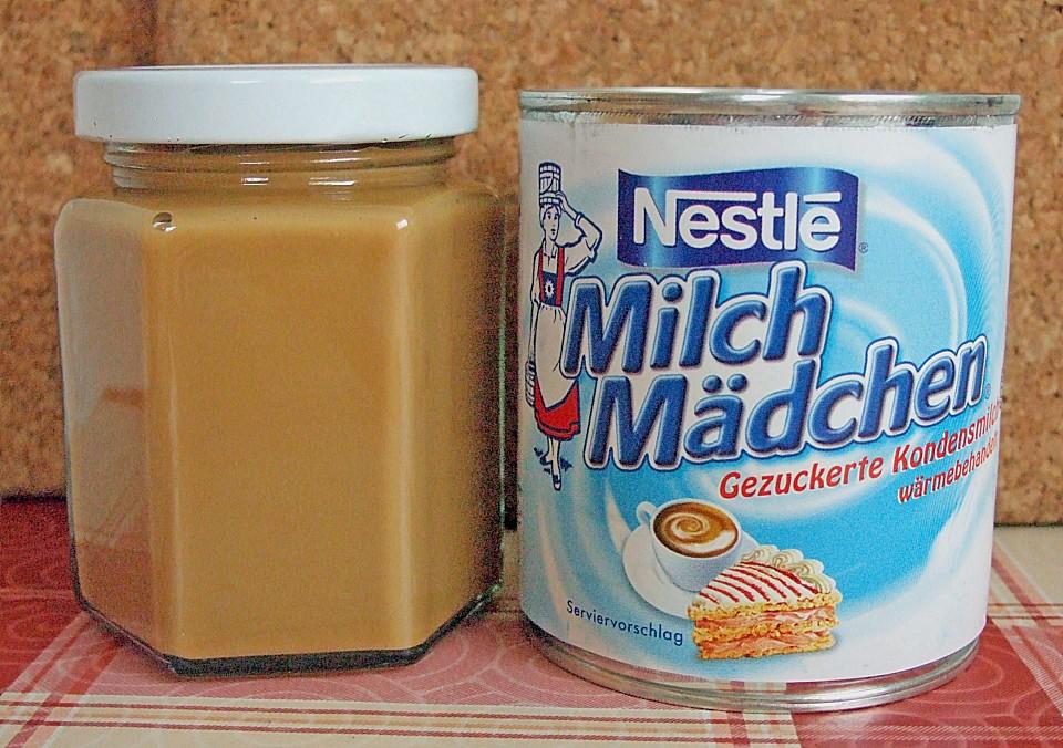 dulce de leche milchmädchen