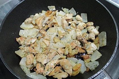 Hühnchen-Kohlrabi-Ragout 1