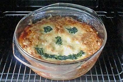 Spinat - Bolognese - Lasagne (Bild)