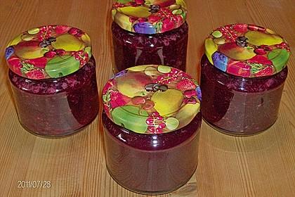 Kirschen - Grapefruit Marmelade (Konfitüre) 5
