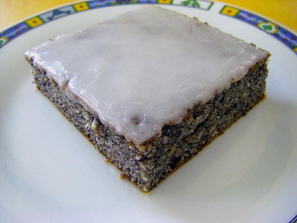 Joghurt Mohnschnitten Ein Raffiniertes Rezept Chefkoch De