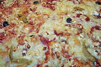 Pizzateig ohne Gehzeit 4