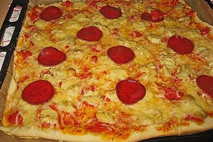 Pizzateig ohne Gehzeit 7