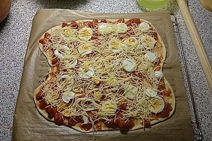 Pizzateig ohne Gehzeit