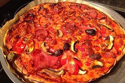 Pizzateig ohne Gehzeit 10