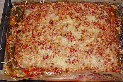 Hackfleischpizza (Bild)