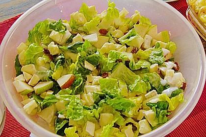 Arabischer Salat mit Ziegenkäse