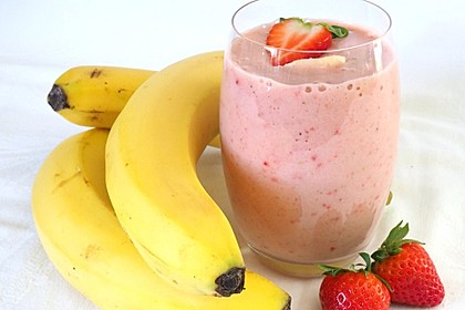 Erdbeer - Bananen - Drink 1