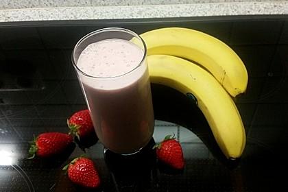 Erdbeer - Bananen - Drink 4