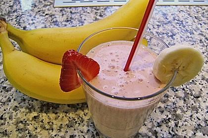 Erdbeer - Bananen - Drink 8