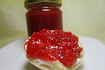 Erdbeer - Rhabarber - Marmelade mit Vanille 7