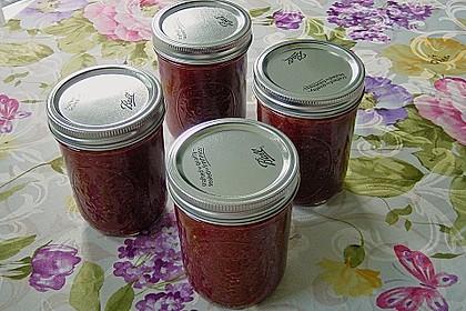 Erdbeer - Rhabarber - Marmelade mit Vanille 9