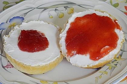 Erdbeer - Rhabarber - Marmelade mit Vanille 4