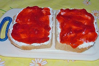 Erdbeer - Rhabarber - Marmelade mit Vanille 5