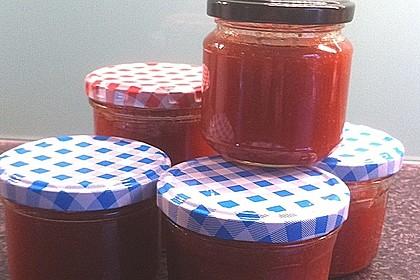 Erdbeer - Rhabarber - Marmelade mit Vanille 28