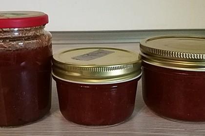 Erdbeer - Rhabarber - Marmelade mit Vanille