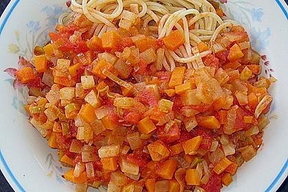 Spaghetti mit Gemüsebolognese 2