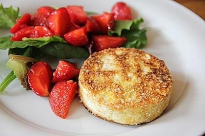 Gebackener Camembert mit Erdbeer-Chutney 1