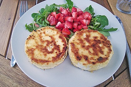 Gebackener Camembert mit Erdbeer-Chutney 2