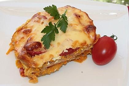 Möhren - Lasagne