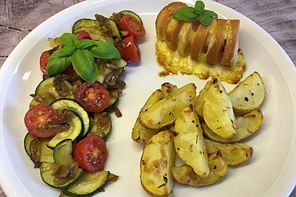 Knusprige Rosmarin - Kartoffeln (Bild)