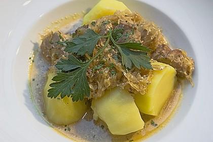 Szegediner Gulasch mit Kartoffeln 5