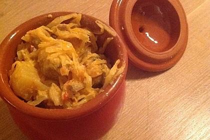 Szegediner Gulasch mit Kartoffeln 6